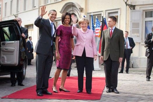 Merkel Obama Baden Baden